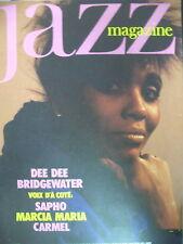 JAZZ MAGAZINE 359 DEE DEE BRIDGEWATER MALAVOI SONNY ROLLINS SAPHO CARMEL 1987