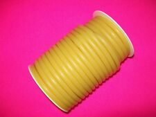 New 50 Foot 14 Id X 116 W X 38 Od Latex Tubing Rubber Surgical Amber