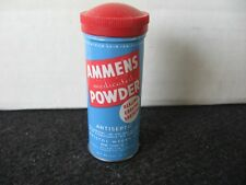 VINTAGE TIN AMMENS MEDICATED POWDER TIN Drugstore Beauty Advertising