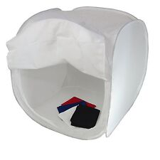 Cube Boite de Lumière Softbox Diffuseur Tente Cabine 80x80x80cm + 4x Fond + Sac