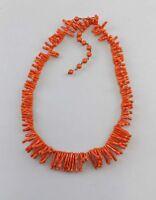 99825009 Zweig-Korallen-Kette Bakelit  Art deco antik