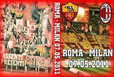 DVD ROMA-MILAN 2011 (SCUDETTO,CURVA SUD MILANO,AC MILAN 1899,CURVA SUD AS ROMA)