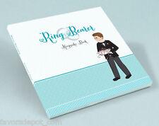 wedding ring bearer keepsake board book ringbearer gift rehearsal dinner gifts