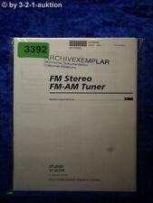 Sony Bedienungsanleitung ST JX661 /SE200 FM/AM Tuner (#3392)