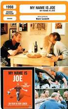 FICHE CINEMA : MY NAME IS JOE - Mullan,Goodall,Lewis,Loach 1998