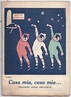 Vamba - Casa Mia, Casa Mia ... - Novella - VI Prestito Nazionale - WW1 - 1919