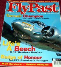 Flypast Magazine 2001 February De Havilland Mosquito,P-61,Beech C-45,Beaufort