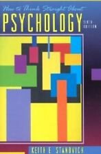 How to Think Straight about Psychology by Keith E. Stanovich (2000, Paperback)