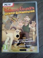 VGC Wallace & Gromits Grand Adventures Episodes 1 & 2 PC Dvd Rom game