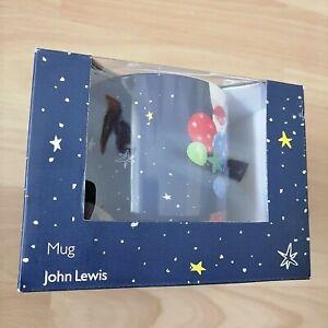 John Lewis Christmas Man On The Moon Coffee Mug 2015 Ad - New in Box