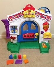 Fisher-Price Laugh and Learn Learning Home Playhouse Sounds Lights HTF!