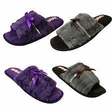 Unbranded Standard (D) Width Textile Slippers for Women