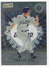 Autographed/Signed 1998 Stadium Club #302/Travis Lee/Arizona Diamondbacks/Tough