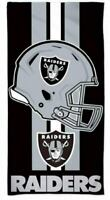 "Oakland Raiders NFL Beach and Bath Towel 30""x 60""- Win craft"