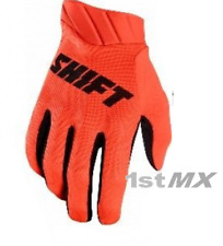 Shift 3LACK Label AIR Motocross MX Off Road Race Gloves Orange Adults Large