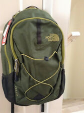 New The North Face Jester Lemongrass Green/Black Unisex Backpack