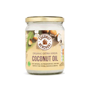 Organic Coconut Oil - raw extra virgin - glass jar
