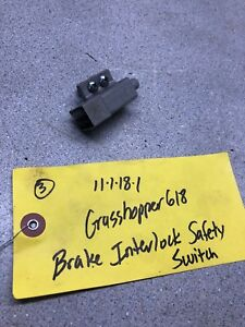 Grasshopper 612 614 616 618 Mower Brake Interlock Safety Switch Tested and works