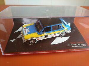 COCHE 1/43, ALTAYA, MODELO SIMCA 1200 TI, RALLYE FALLAS 1979.