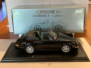ANSON. Porsche 911- CARRERA 4 - Cabriolet Die-Cast  1:14
