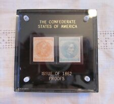 The Confederate States of America Issue of 1862 Proofs