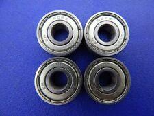 4 Pezzi 608 ZZ (2Z) (8x22x7 mm) Cuscinetto a sfere, Cuscinetti a sfera miniatura