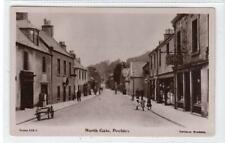 More details for north gate, peebles: peeblesshire postcard (c62368)