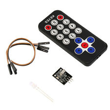 New Infrared IR Wireless Remote Control Receiver Module Kit for Arduino RZ