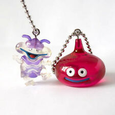 Square Enix SQEX Toys Dragon Quest Crystal Monster 9 Super Ten & Slime Key chain
