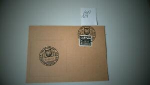 Briefmarken BERLIN Karte mit Sst miNr.42