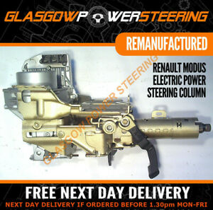 RENAULT MODUS ELECTRIC STEERING COLUMN, RECONDITIONED AND DECODED