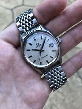 Vintage Omega Seamaster Automatic Cal 565 Date Original 1037 Beads Of Rice Band