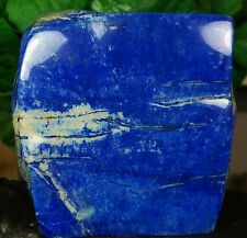 LAPIS LAZULI HAND POLISHED CRYSTAL MINERAL SPECIMEN 2015 GRAMS FROM AFGHANISTAN