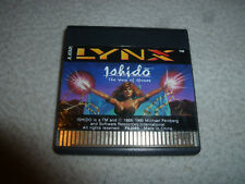 ATARI LYNX VIDEO GAME ISHIDO THE WAY OF THE STONES CARTRIDGE ONLY VINTAGE 1990