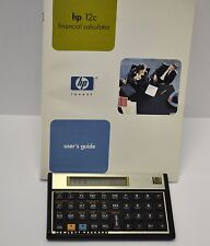 HP 12C Financial Calculator with Book Manual