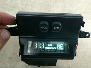 Ford Excursion Overhead Roof Console Trim Compass Mileage Calculator Computer