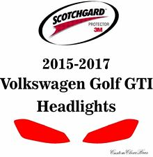 3M Scotchgard Paint Protection Film Pre-Cut 2015 2016 2017 Volkswagen Golf GTI