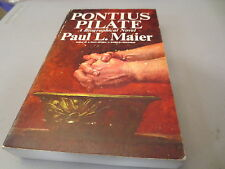 Pontius Pilate A Biographical Novel by Paul L. Maier vintage paperback