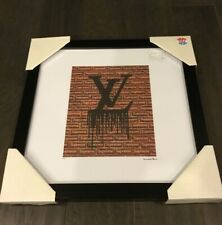 "Louis Vuittons Bag Print Fairchild Paris Framed 15""x15"" Signed 59 Of Only 1000"