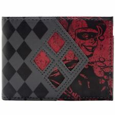 DC Comics Batman Harley Quinn Multicoloured ID Card Bi-fold Wallet