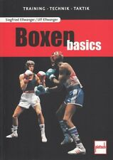 Ellwanger: Boxen basics - Training/Technik/Taktik NEU (Hand-Buch Ratgeber Tipps)