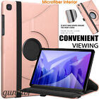 Leather Smart 360 Rotation Case Cover For Samsung Galaxy Tab A7, A, S6 Lite 10.4