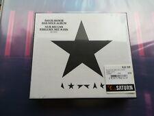 DAVID BOWIE BLACKSTAR MSD GERMAN ONLY CD BOX SET WITH PIN BADGE