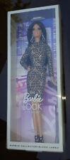 The Barbie Look City Shine Lace Dress Barbie Doll Black Label #CFP38 New NRFB