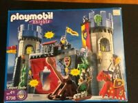 Playmobil #5738 Playmobil Knights Catapult Castle New in Box