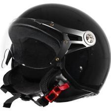 Casque Demi Jet Scooter Noir Brillant - XL  60-61 cm - XL  60-61 cm - XL  60-61