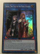 SOFU-ENSE1 - ISOLDE TWO TALES OF THE NOBLE KNIGHTS SUPER RARE LTD ED YuGiOh NEW