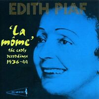 Edith Piaf Early Recordings {Audio CD} Ne Sealed