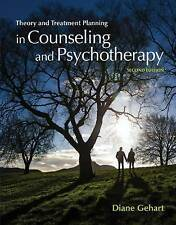 Gehart, Diane R.-Theory And Treatment Planning In Counseling And Psycho BOOK NEW