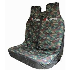 NORTHCORE Camo Double Van Front  Seat Cover - Heavy Duty NEW DPM woodland